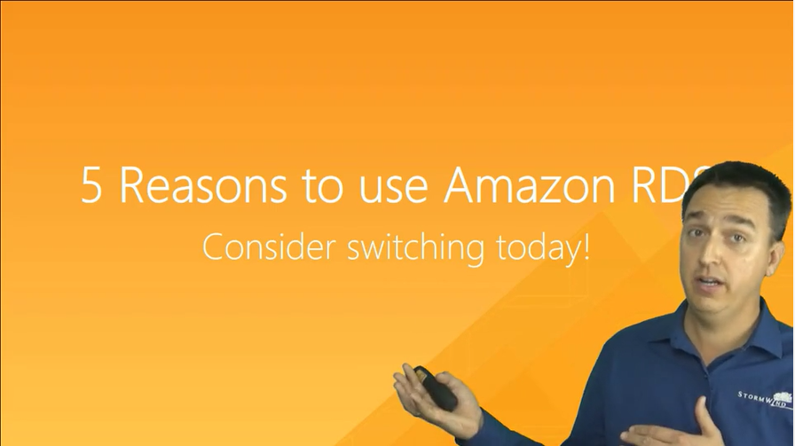 why use amazon rds