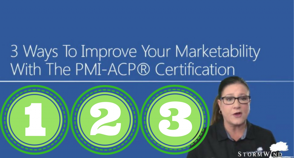 3 ways to improve marketability with the pmi-acp certification